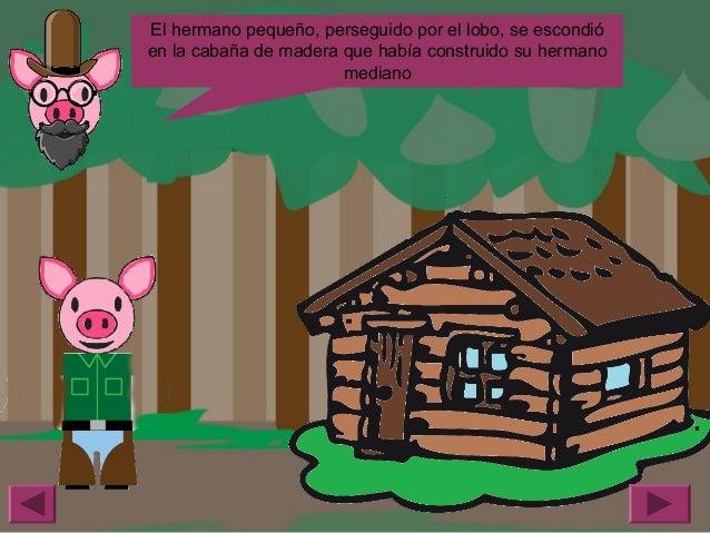 Madera Casas De Los Tres Cochinitos Www Imagenesmy Com