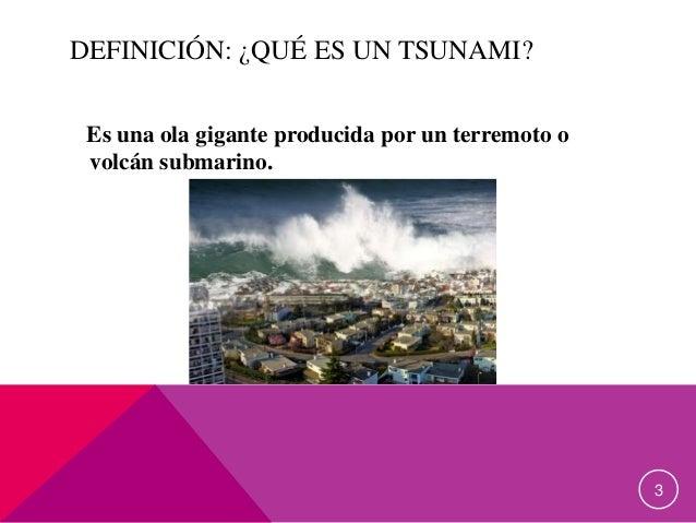 Los tsunamis Slide 3
