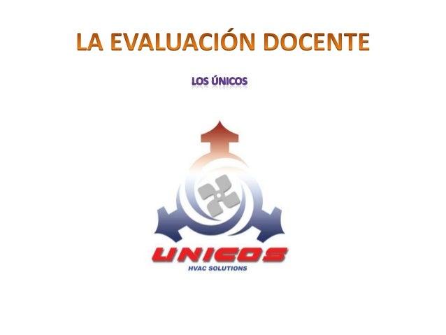 INSTRUMENTOS DE EVALUACION DOCENTE INTERNA Y EXTERNA  EVALUACION              Todos los                                   ...