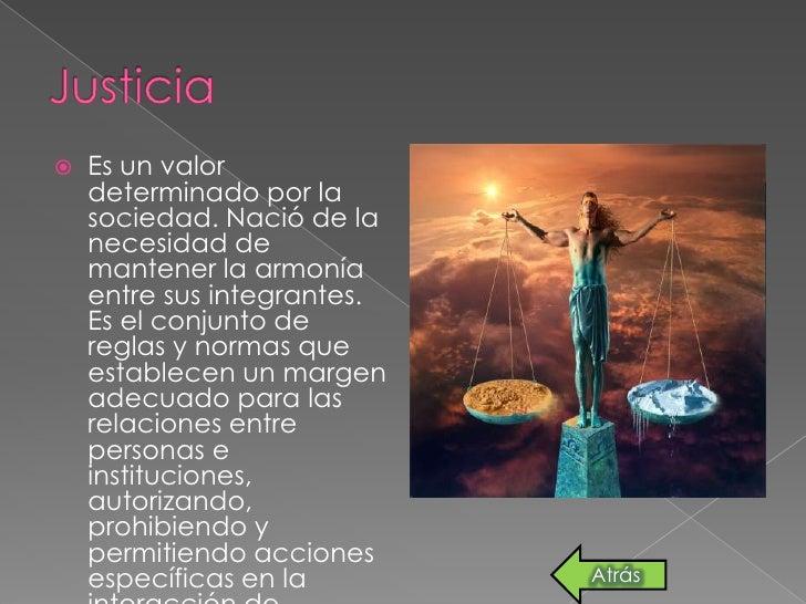 Los valores Slide 3