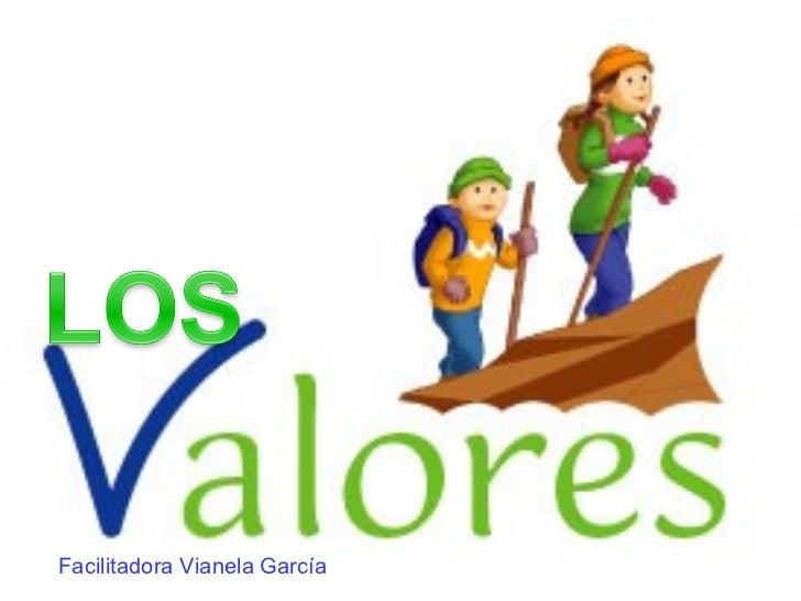Facilitadora Vianela García