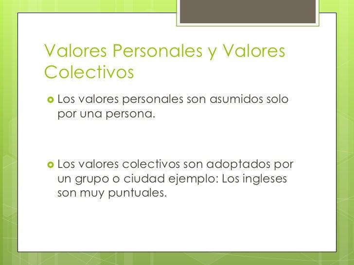 Los valores como referencias de la reflexi n y - Como son los ingleses ...