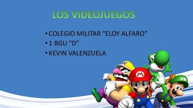"•COLEGIO MILITAR ""ELOY ALFARO"" •1 BGU ""D"" •KEVIN VALENZUELA"