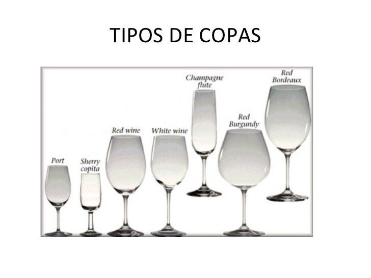 Los vinos for Tipos de copas