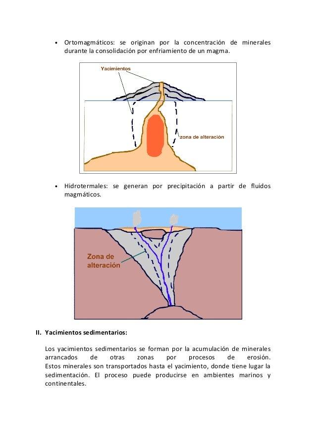 Los yacimientos minerales Slide 2