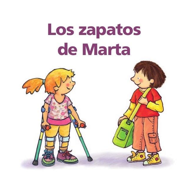 Los zapatos de Marta    Texto de Meritxell Margarit Ilustraciones de Marta Montañá               1