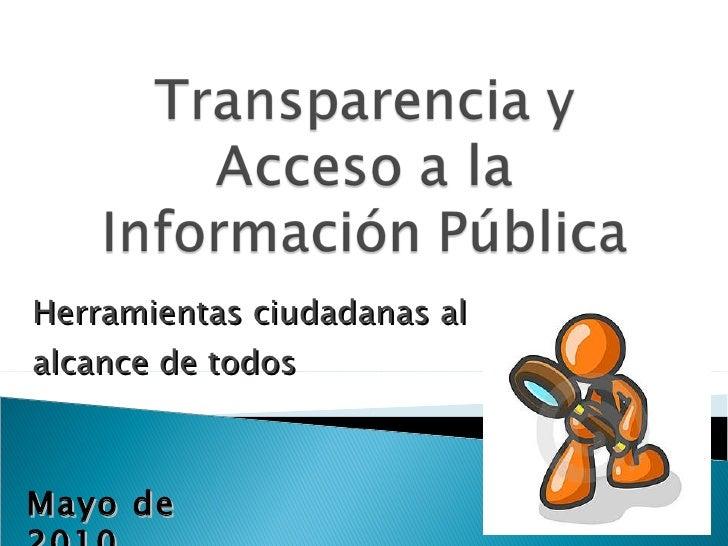 Lotaip ley org nica de transparencia y acceso a la for Oficina de transparencia y acceso ala informacion