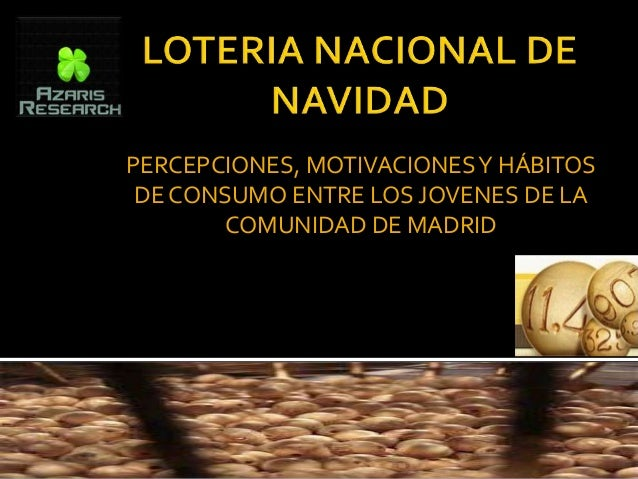 PERCEPCIONES, MOTIVACIONES Y HÁBITOS DE CONSUMO ENTRE LOS JOVENES DE LA       COMUNIDAD DE MADRID