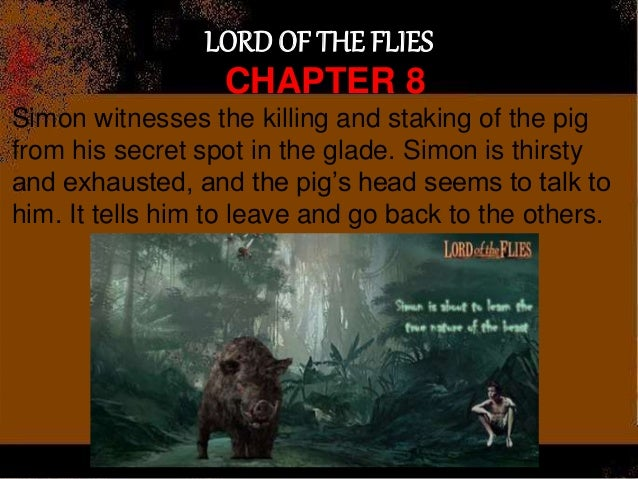 lord of the flies simon scapegoat