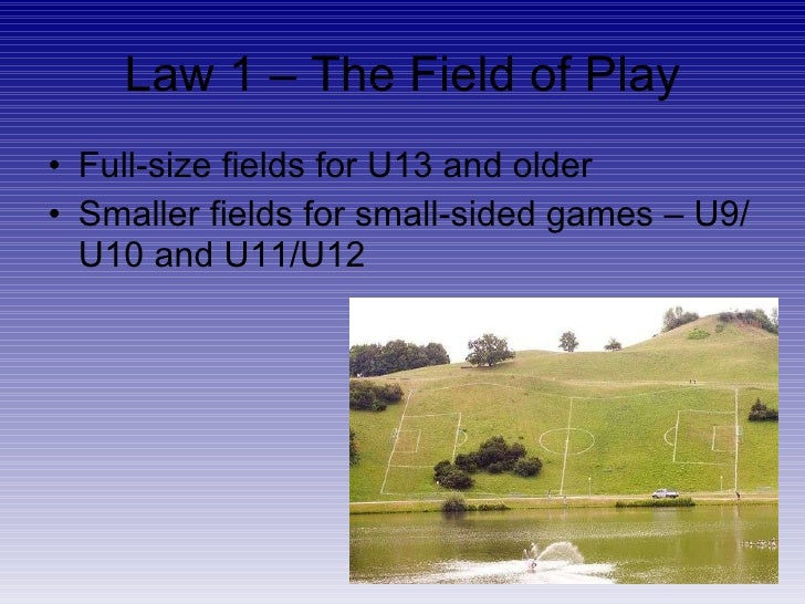 Laws of the Game For Valley United Soccer Club travel soccer