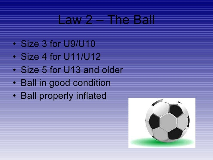 Laws Of The Game For Valley United Soccer Club Travel Soccer Refs