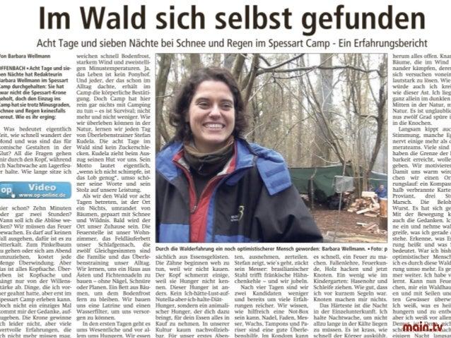 Lothar Steigerwald: Das Spessartcamp