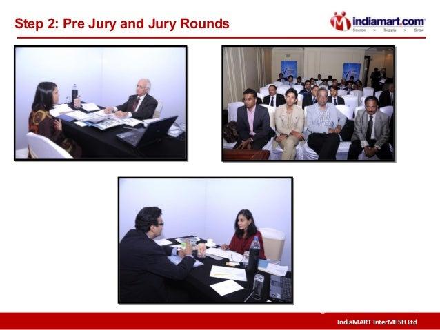 IndiaMART InterMESH Ltd © Step 2: Pre Jury and Jury Rounds