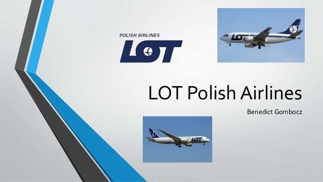 LOT Polish Airlines Benedict Gombocz