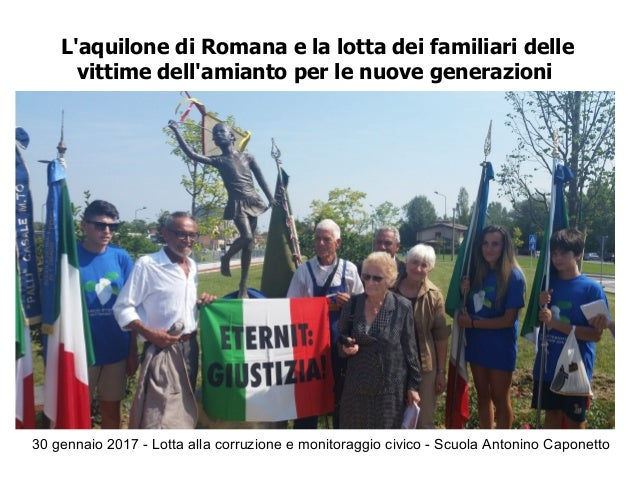 30 gennaio 2017 - Lotta alla corruzione e monitoraggio civico - Scuola Antonino Caponetto L'aquilone di Romana e la lotta ...
