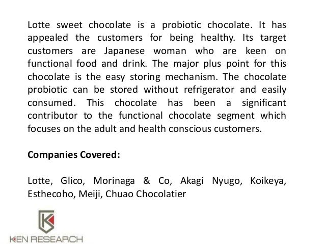 chocolate market in japan There is a strong tradition of women giving chocolates to men on valentines day   japanese tradition, spurred on by the nation's candy industry, calls for.