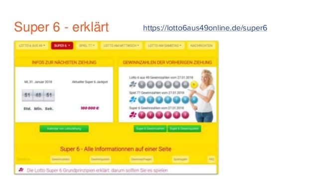 Lotto Spielregeln