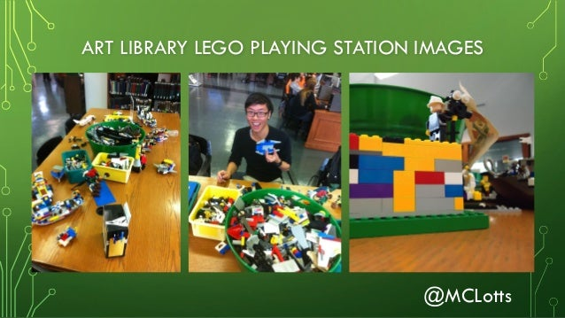 "Lotts counterplay 2016- Playing with LEGO®, ""Making"" Campus Connectio…"