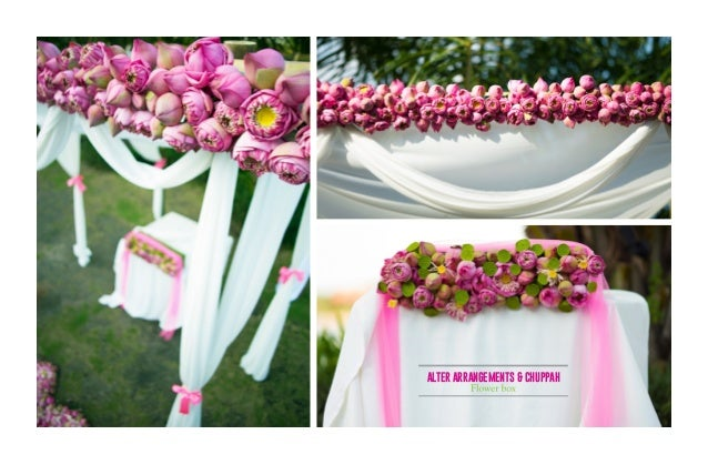 Lotus Wedding Concept