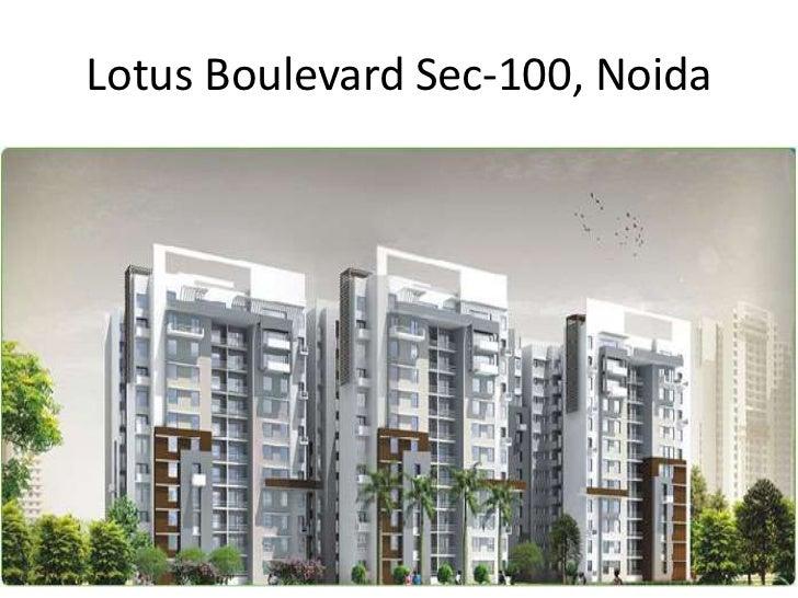 Lotus Boulevard Sec-100, Noida