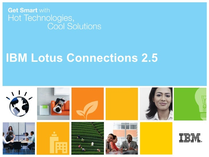 IBM Lotus Connections 2.5