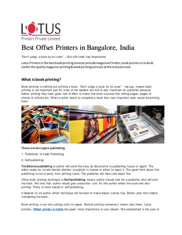 brochure printing in india offset printing service in india