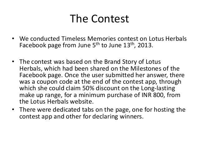 Case Study on Lotus Herbals Essay - 877 Words
