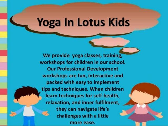 Yoga In Lotus Kids