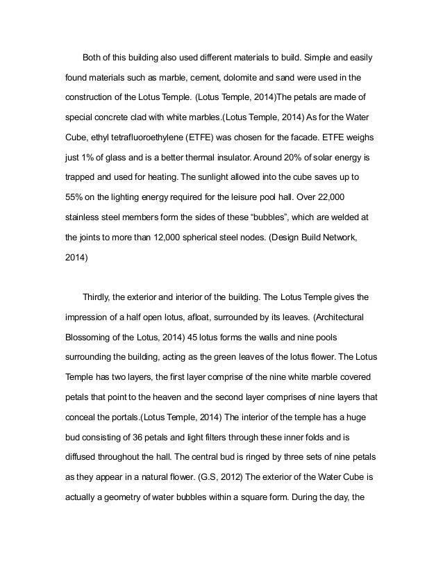 essay on lotus