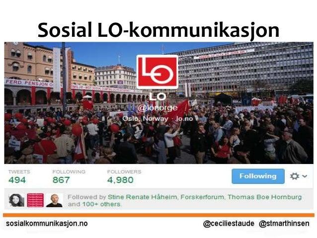 Sosial LO-kommunikasjon