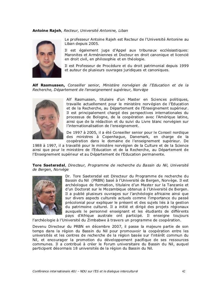 Louaize bc conference programme book french