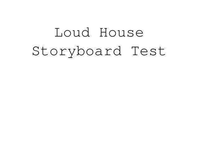 Loud House Storyboard Test