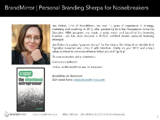Branding for Small Business (Updated) Slide 2