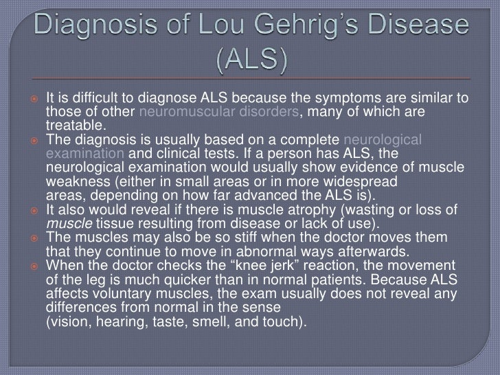 lhou gherigs disease Yankee great lou gehrig may not have had the motor-neuron disorder that was famously named after him.