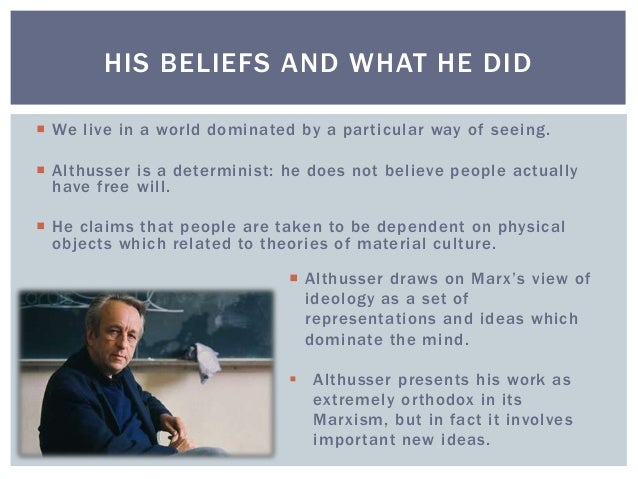 """althusser ideology and interpellation essay Althusser and ideology from which his famous essay """"ideology and ideological state apparatuses"""" is taken  """"interpellation"""" is the process by which."""