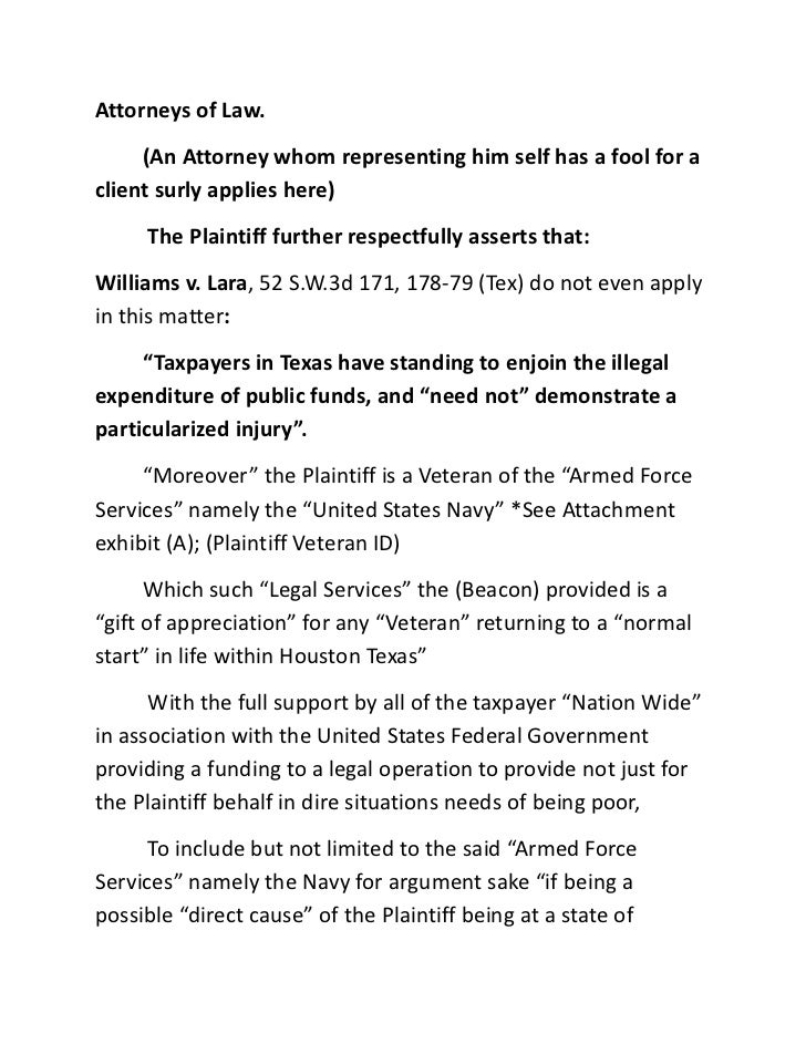 Louis Charles Hamilton Ii Vs America Et Al And State Of Texas Et Al