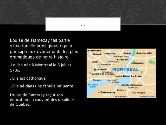 Louise de ramezay Slide 2