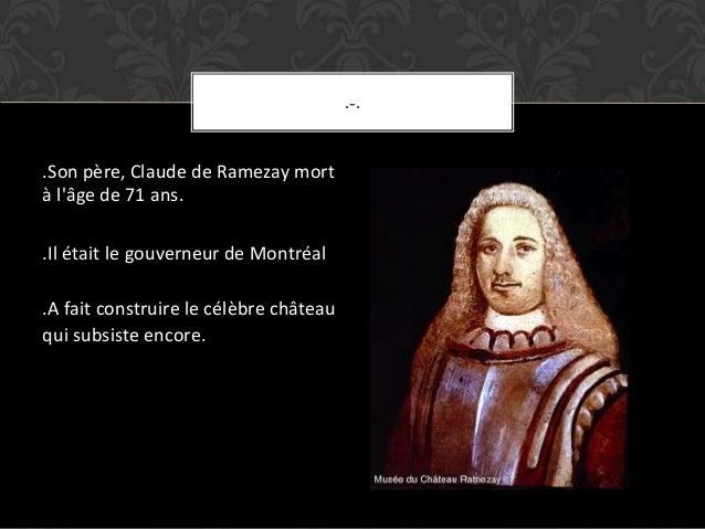 Louise de ramezay Slide 3