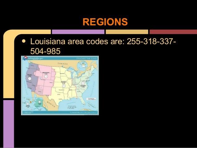 Louisiana - Louisiana area codes
