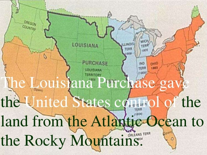 Louisiana Purchase And The Corps Of Discovery