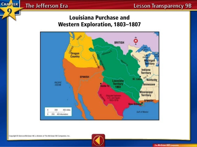 Louisiana Purchase - Louisiana purchase and western exploration us history map activities