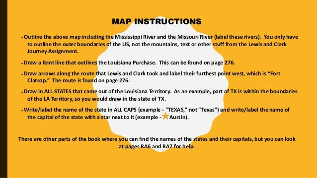 louisiana purchase essay outline