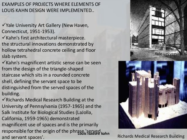 Louis i kahn for Importance of space in architecture