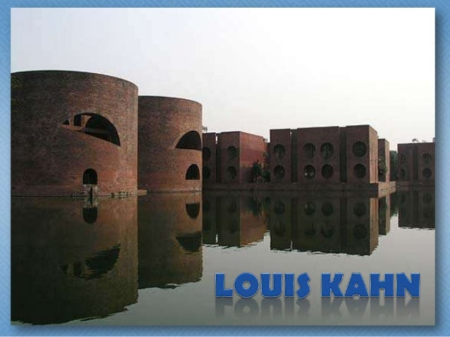 • Louis Isadore Kahn (February  20, 1901 – March 17, 1974) was  an American architect, based in  Philadelphia, Pennsylvani...