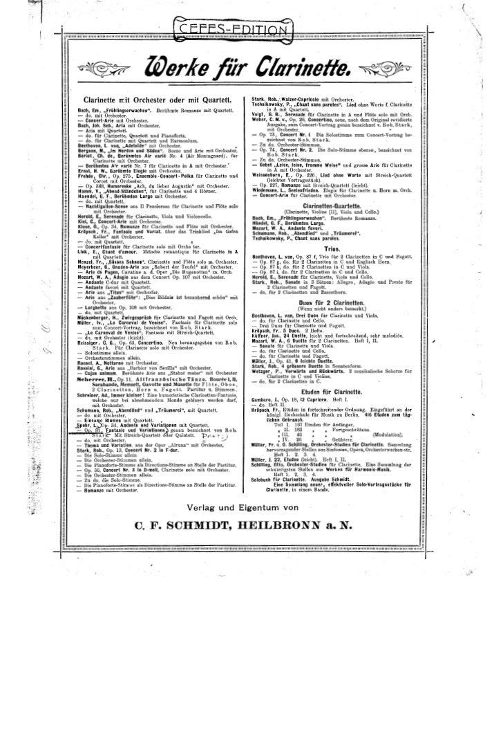 Louis spohr   fantasy and variations op.81 (clarinette et ensemble cordes)