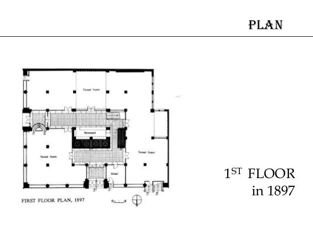 Louis sullivan for Sullivan floor plan