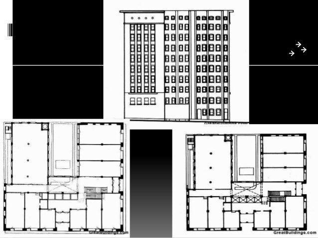Ground Floor Elevation Modern : Louis sullivan