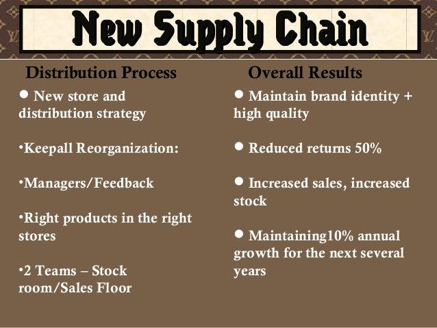 Louis Vuitton New Supply Chain
