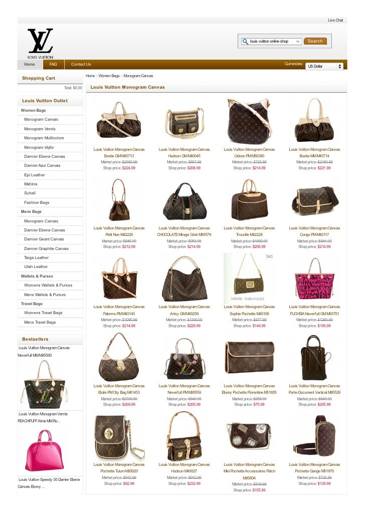 reviews on louis vuitton outlet online stores