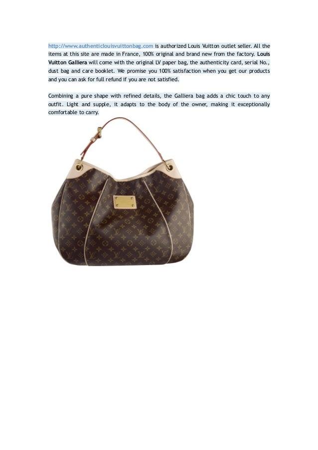 cheap for discount aliexpress delicate colors Louis vuitton galliera 100% authentic 80% sale